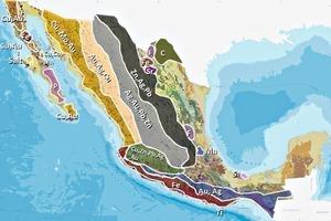 1 Mexikos Erzvorkommen • Mexico's ore deposits <br />
