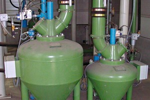 Pneumatische Förderanlage der Hensel GmbH # Pneumatic conveying equipment of Hensel GmbH