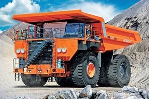 Starrrahmen-Muldenkipper EH5000AC-3 • Rigid dump truck EH5000AC-3
