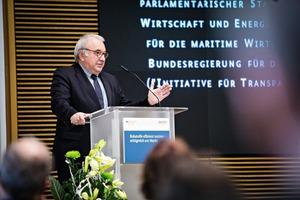 "<div class=""bildtext"">Uwe Beckmeyer, Parliamentary Secretary at the BMWi</div>"