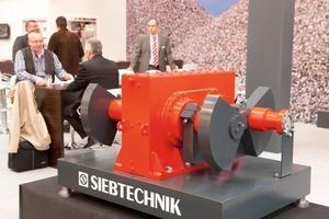 Double-eccentric gearbox of Siebtechnik GmbH<br />