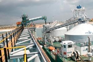 """<span class=""""bildunterschrift_hervorgehoben"""">18</span> Schiffsbeladeanlage für Endprodukte in Mozambique (Kenmare Resources)<br />"""