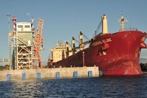 """<span class=""""bildunterschrift_hervorgehoben"""">28</span> Produktverschiffung vom Hafen Fort-Dauphin (Rio Tinto)<br />"""