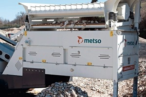 2 The Lokotrack jaw crusher in action, processing aggregates for the expansion of the Linth-Limmern power plants<br />