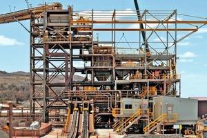 1 Aufbereitung von Eisenerz in Whyalla/Australia • Processing of iron ore in Whyalla/Australia