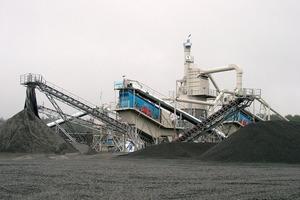 Semi-mobile preparation plant in Russia (Basalt AG)<br />