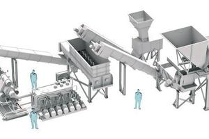 Späneaufbereitungssystem • Chip processing system<br />