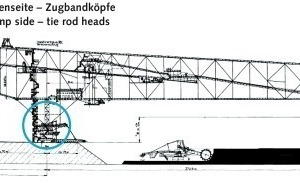 "<div class=""bildtext"">Zu modernisierende Teile der Abraumförderbrücken • Parts of the modernization program for conveyor bridges</div>"