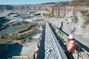 Ardmore quarry in the USA (HeidelbergCement)<br />