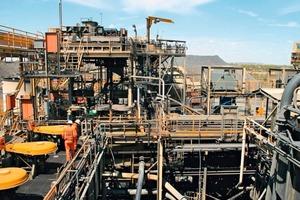 Erzbabbau in Australien • Mining of ore in Australia<br />
