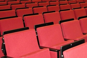"""<div class=""""bildtext"""">Hörsaal an der Montanuniversität Leoben • Lecture hall of the Leoben Mining University </div>"""