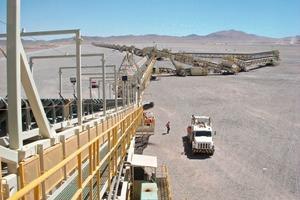 Kupfer Haufenlaugungsprojekt in Chile # Copper heap leach project in Chile<br />