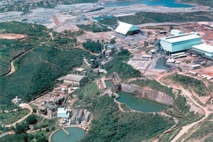 Aerial view of the Kinross Paracatu mine operations<br />