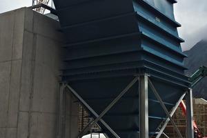2Leiblein-Schrägklärer zur Wasseraufbereitung im Transbeton-Kieswerk in ca. 1750m Höhe