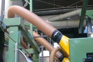 Spiral hose of polyurethane for conveying extremely abrasive insulating materials<br />