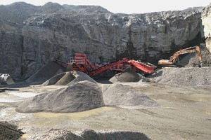 """<div class=""""bildtext"""">New C-1540 cone crusher and new 674 inlined screen</div>"""