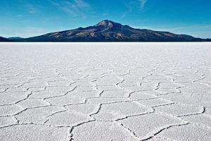 2 Gesamtbild des Salzsee von Uyuni ● Overview of the Uyuni salt lake
