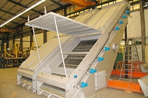 RHEWUM screening machine type AMB 30 x 60/SD<br />