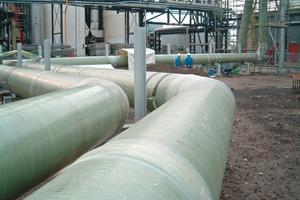 GFK-Rohrleitungen von Scholten # GRP pipelines from Scholten
