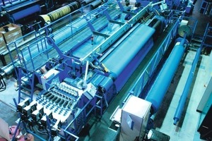 GKD transport and process belts are produced on special high-performance looms in large weave widths<br />