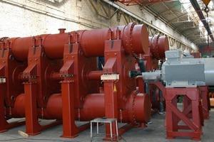 PALLA<sup>®</sup>-Schwingmühle in der Produktion bei MBE<br />