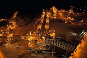 Minera Peñasquito ist der zweitgrößte Tagebau in Mexiko • Minera Peñasquito is Mexico's second largest open-pit mine<br />