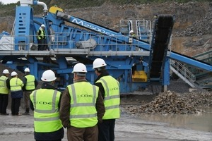 Customer open day at Gleeson Quarries<br />