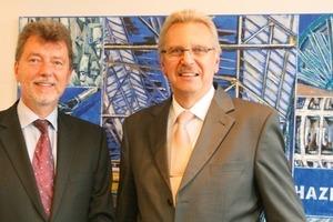 Martin Wetter (l.) und/and Klaus Beer (r.)<br />
