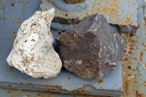 Lime and dolomite as feed materials<br />