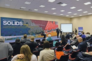 "<div class=""bildtext"">2 A conference covering relevant issues for the Russian bulk handling market has been held parallel to the trade show</div>"