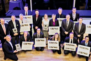 "<div class=""bildtext"">1 The award winners&nbsp; – In the current sustainability competition, the jury awarded prizes to nine of 19 projects</div>"