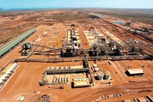 Eisenerzaufbereitungsanlage # Iron ore beneficiation plant