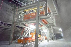 NIAGARA M-Class<sup>®</sup> 2000x2800 in underground salt mining (by courtesy of GSES – Glückauf Sondershausen Entwicklungs- und Sicherungsgesellschaft mbH)<br />