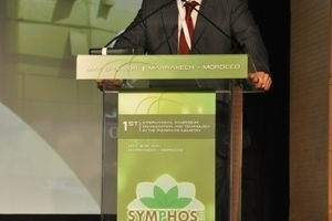 5 Amar Drissi, COO OCP, SYMPHOS chair, at the closing ceremony <br />