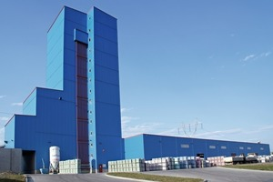 """<div class=""""bildtext"""">Gesamtansicht des Trockenmörtelwerkes • Overall view of the dry mortar factory</div>"""
