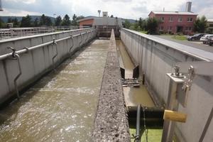 Im Sandfang wird der mitgeführte Sand freigespült, gewaschen und entwässert, sodass er als Verfüllmaterial im Kanalbau eingesetzt werden kann