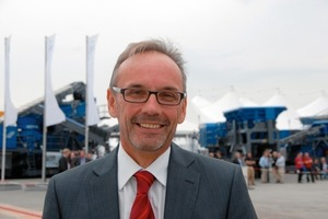 Dr. Gerhard Schumacher, Managing Director of Kleemann GmbH, was very satisfied with the outcome of the event<br />