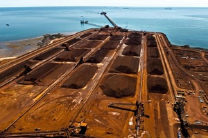 7 Eisenerzexporte von Pilbara, Australien # Iron ore exports from Pilbara, Australia<br />