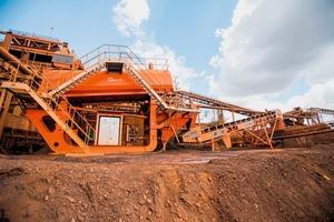 2Modularer Schwertwäscher AggMax im Eisenerz-Projekt von CDE Mining