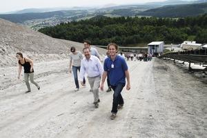 """<span class=""""bildunterschrift_hervorgehoben"""">16</span>Aufstieg zum Monte Kali (2. v. r. Dr. Jost Götte) • Climbing the Monte Kali (Dr. Jost Götte second from the right)<br />"""