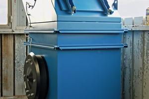 """<div class=""""bildtext"""">Ex-geschützte PowerCore<sup>®</sup> CPV 2 Entstaubungsanlage eingesetzt in der Futtermittelindustrie</div>"""