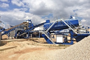 """<div class=""""bildtext"""">1 CDE Sand- und Kies-Aufbereitungsanlage bei der Josef Bohnen GmbH • CDE sand and gravel plant at Josef Bohnen GmbH</div>"""