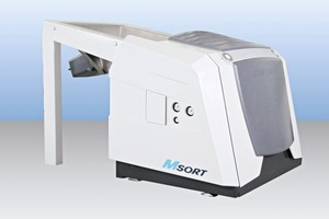 1 Das neue Sortiersystem MSort Mineral # The new sorting system MSort Mineral