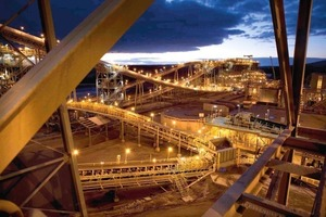 Boddington gold extraction plant (Newmont)<br />