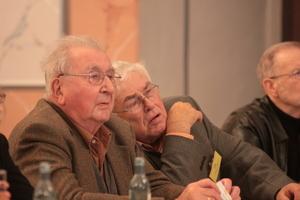 Prof. heinrich Schubert (links) und Prof. Dieter Uhlig<br />