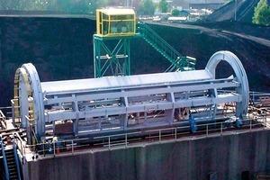 Aumund railcar tippler<br />