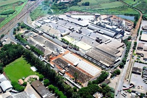 Der Industriekomplex von Paulínia/Brasilien der Galvani Gruppe • Grupo Galvani's industrial complex in Paulínia/Brazil