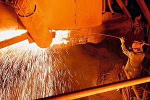 Stahlherstellung • Steel production<br />