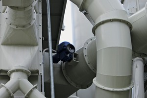 1 Pipe shut-off damper on a combination system