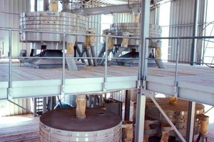 Tumbler screen systems for limestone processing<br />